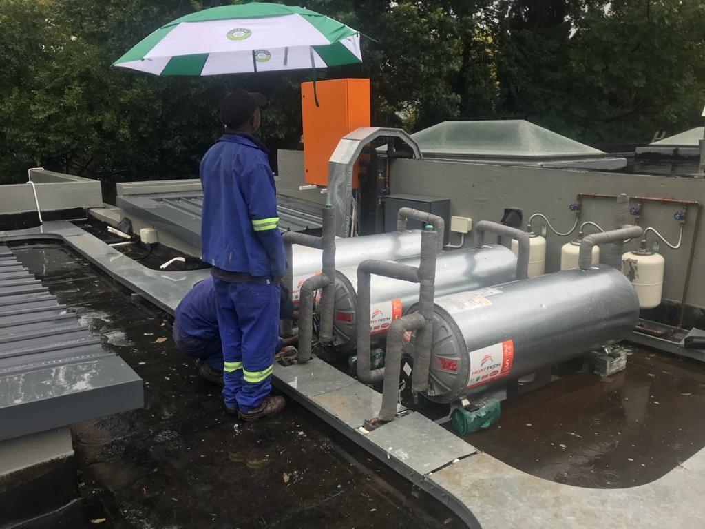 plumbing solar geyser installation